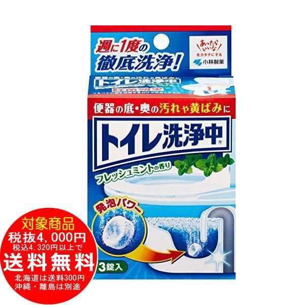 トイレ洗浄中 フレッシュミントの香り 3錠