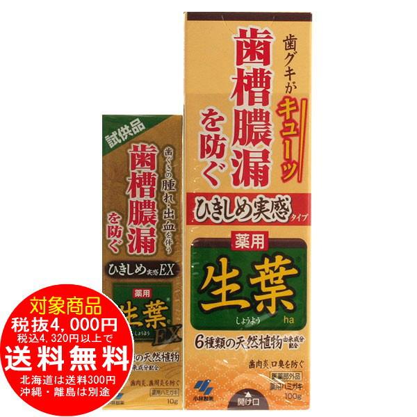 ひきしめ生葉 100g 生葉EX試供品付